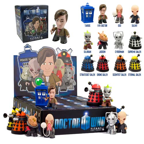Doctor Who Titans 11th Doctor Ser. 1 Figure Display Box