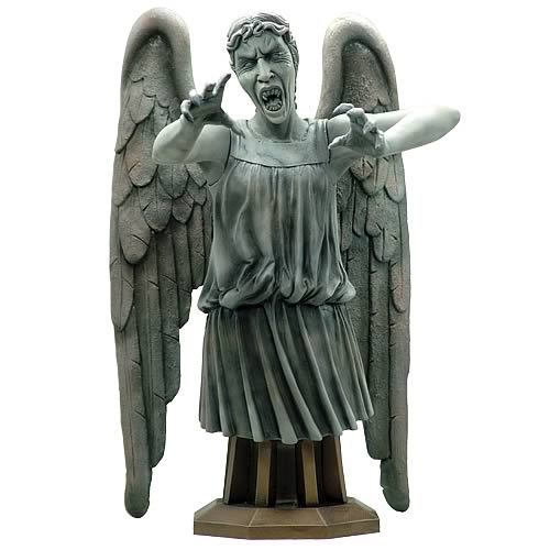Doctor Who Masterpiece Weeping Angel Premium Bust, Not Mint