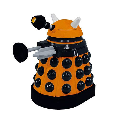 Doctor Who Titans Scientist Paradigm Dalek Vinyl Figure