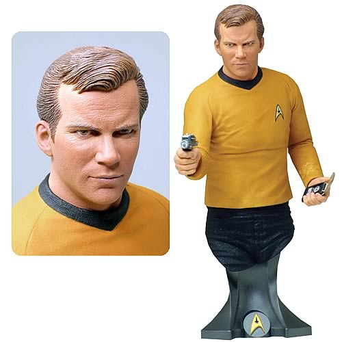 Star Trek James T. Kirk Masterpiece Collection Bust