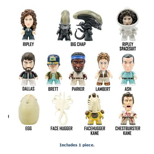 Alien Titans Nostromo Collection Random Vinyl Mini-Figure