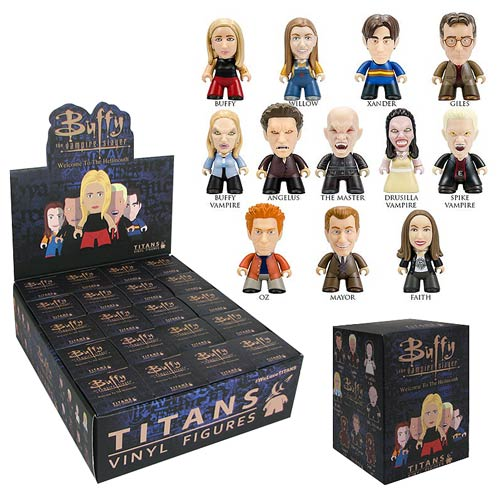BTVS Titans Welcome to Hellmouth Mini-Figure Display Box