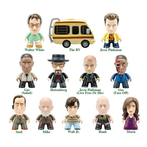Breaking Bad Titans Heisenberg Coll. Mini-Figure Display Box