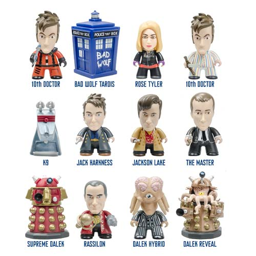 Doctor Who Titans 10th Doctor Gallifrey Vinyl Figure 4-Pack