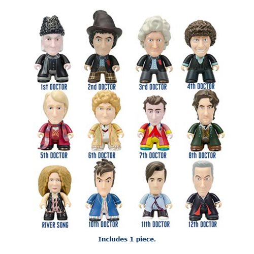 Travel Through Time and Space with 50% Off Doctor Who Mini-Figures