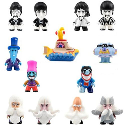 Beatles Yellow Submarine Series 2 Titans Display Case