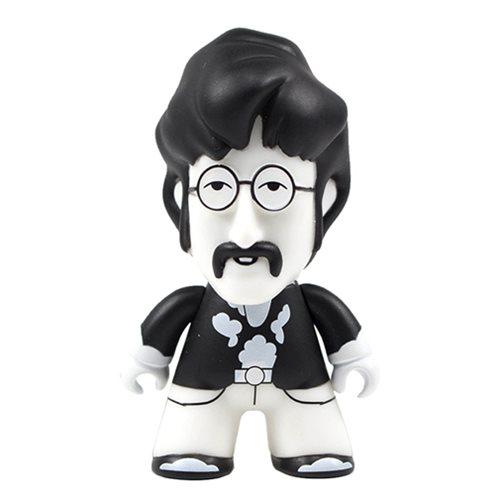 The Beatles Black and White John 4 1/2-Inch Titans Figure