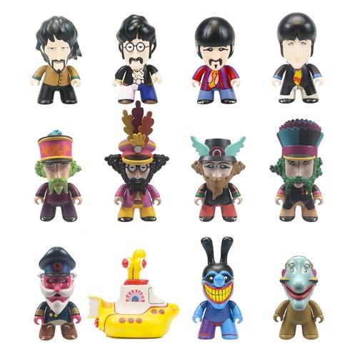 The Beatles Titans Yellow Submarine Vinyl Figure Display