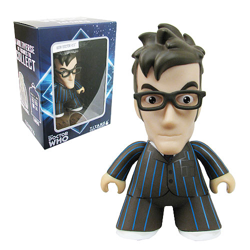 Doctor Who Titans 10th Doctor with Glasses Vinyl Figure