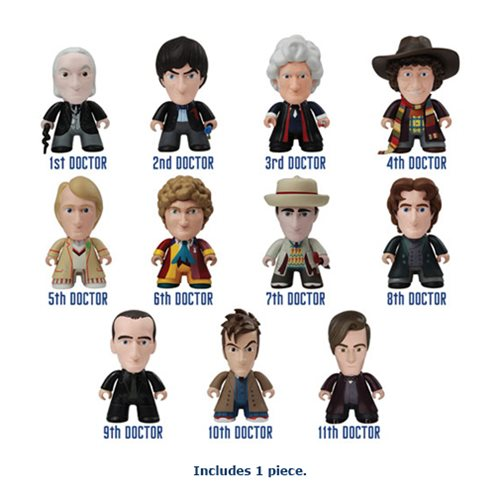 Doctor Who Titans 50th Anniversary Random Vinyl Figure