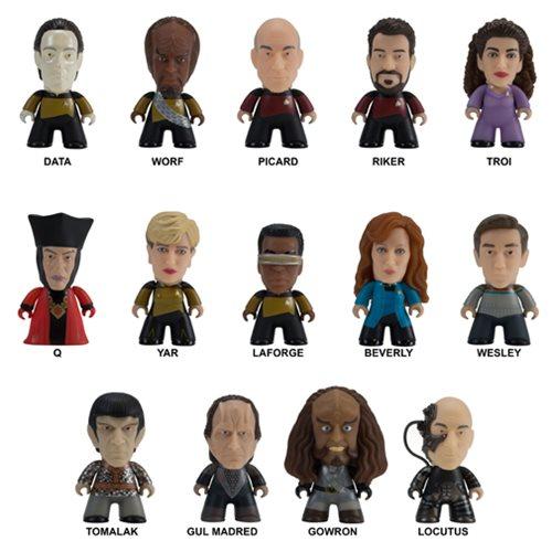 Star Trek: TNG Make It So Coll. Mini-Figure Display Case
