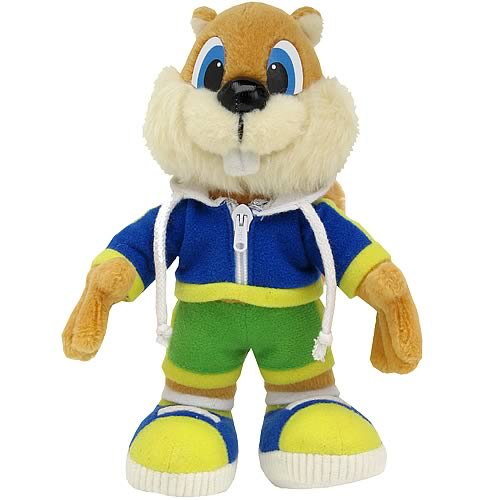 Conker Single Player Version Plush