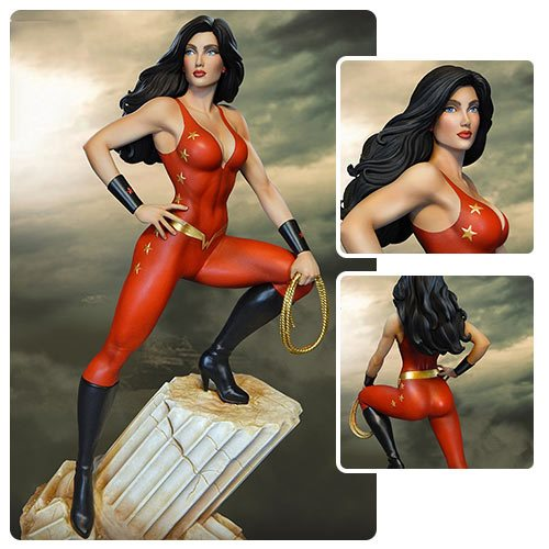 DC Super Powers Donna Troy Maquette Statue