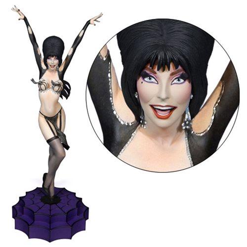 Elvira Vegas or Bust Maquette Statue