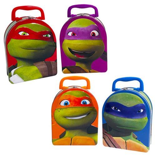 Teenage Mutant Ninja Turtles Embossed Tin Tote Case