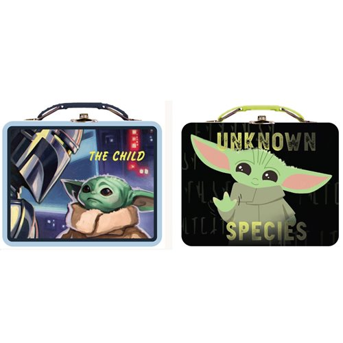 Star Wars: The Mandalorian The Child Tin Lunch Box Set