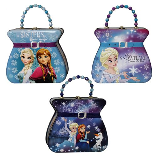Disney Frozen Purse Embossed Tin Lunch Box Set
