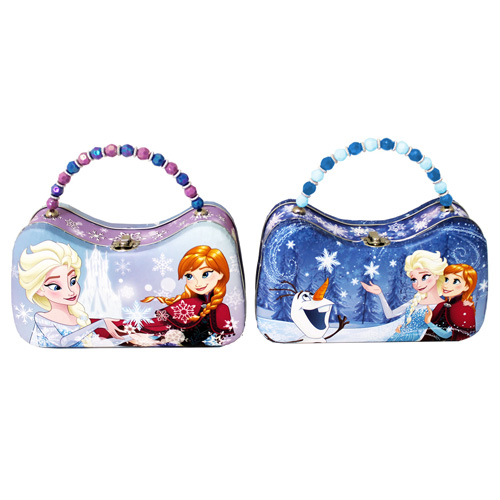 Disney Frozen Anna and Elsa Tin Scoop Purse
