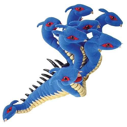 Hydra 21-Inch Plush