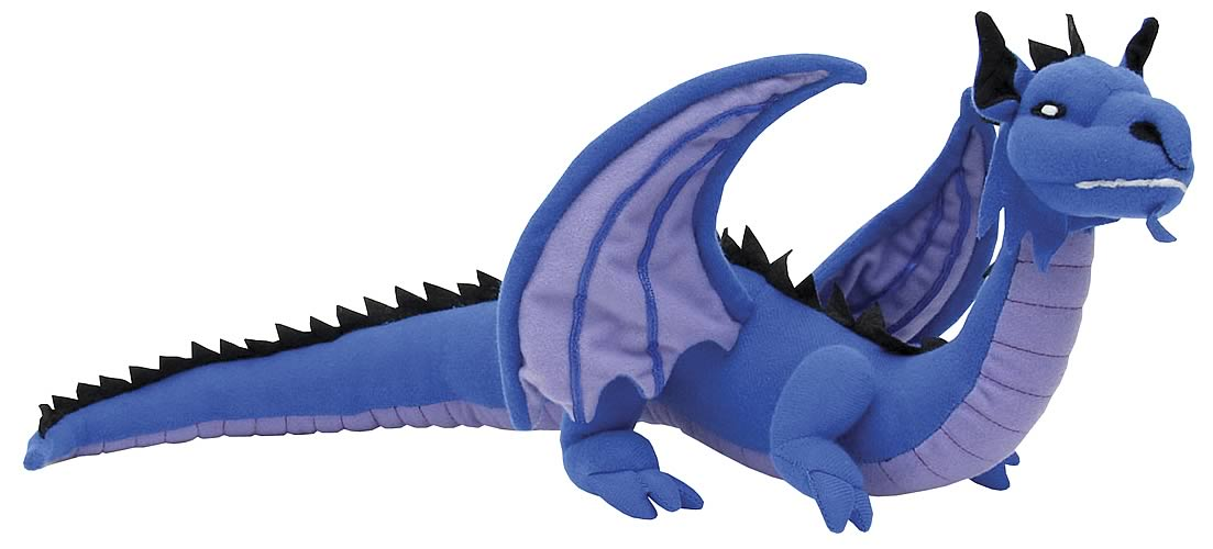 Blue Dragon 13-inch Plush