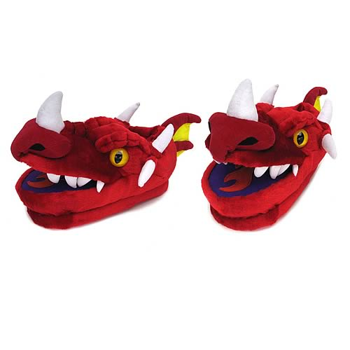 Dragon Plush Slippers