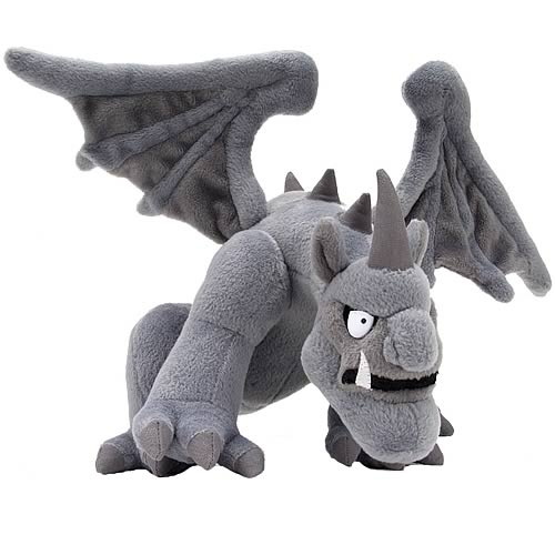 Here Be Monsters Gargoyle Plush