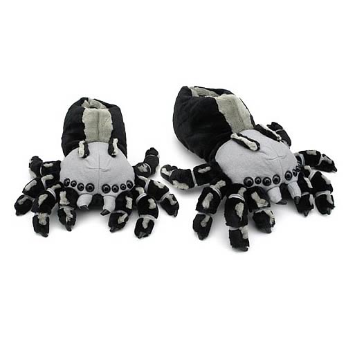 Spider Plush Slippers