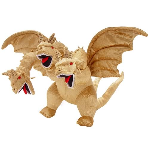 Godzilla King Ghidorah Plush with Sound