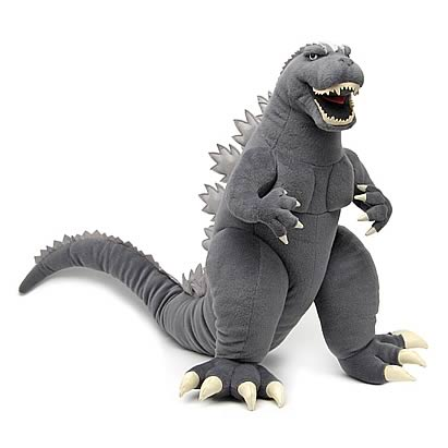 Supersized Godzilla 20-Inch Plush