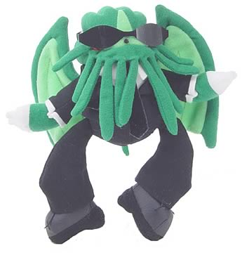 Secret Agent Cthulhu Mini Plush