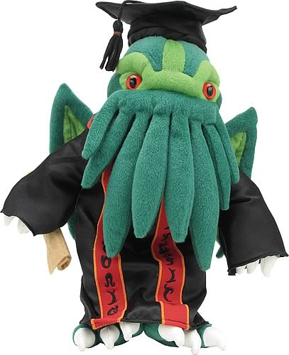 Miskatonic University Graduate Cthulhu Plush