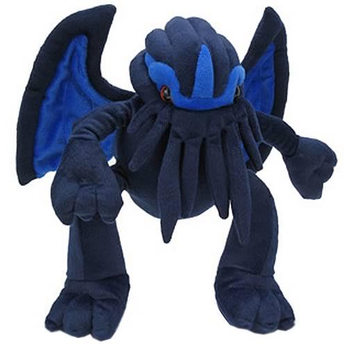 Blue Velvet Cthulhu Plush