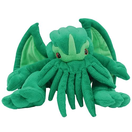 Cthulhu Electronic Screaming Plush
