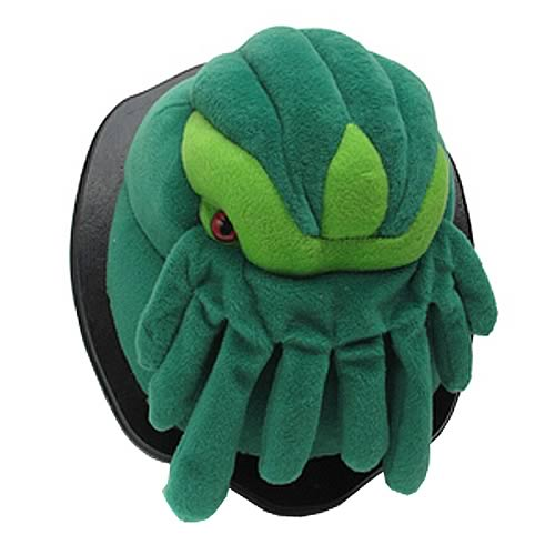 Cthulhu Mounted Plush Wall Trophy