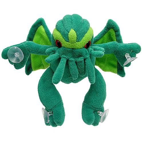 Peeping Cthulhu Suction Cup Plush