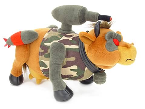 Rambull: First Blood Battle Cow Plush