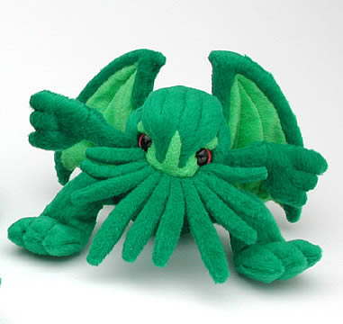 Green Cthulhu 4-inch Plush