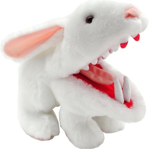 Monty Python Rabbit with Big Pointy Teeth Plush