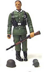 4in. Normandy Infantry Figure