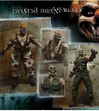 Twisted Metal Black Set