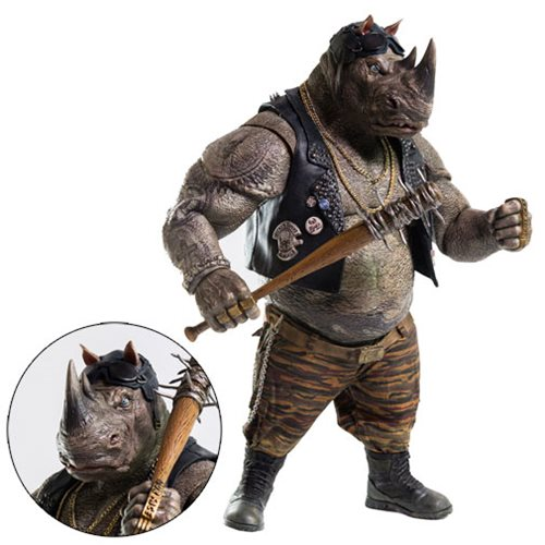 Tmnt: Out Of The Shadows Rocksteady 1:6 Scale Figure