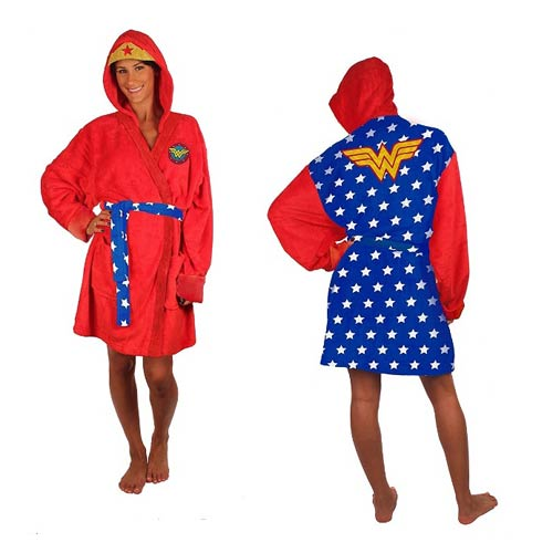 Wonder Woman Plush Bath Robe