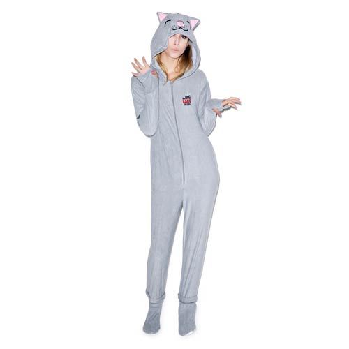 Big Bang Theory Soft Kitty Hooded Onesie with Removable Feet