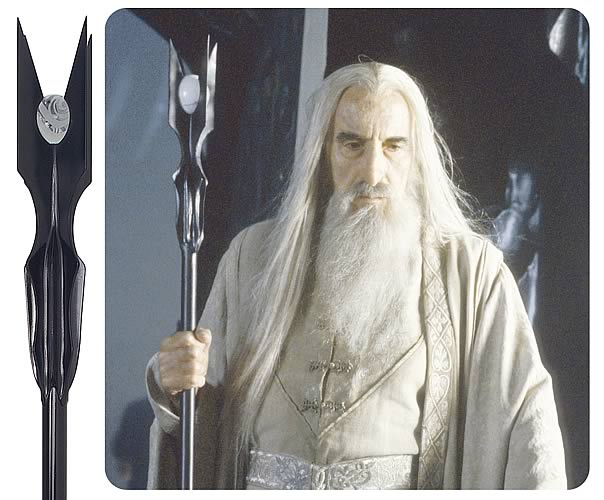 Staff Of Saruman United Cutlery Hobbit Lord Of The