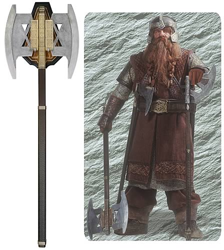 Lord Of The Rings Gimli Axe By United Cutlery