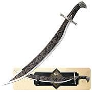 Prince of Persia Black Shamshir of Dastan Prop Replica
