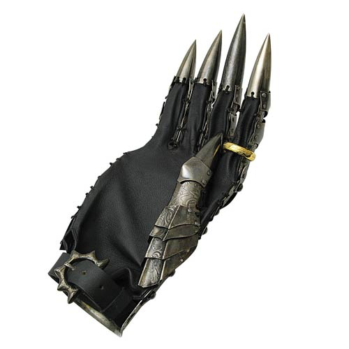 The Lord of the Rings Gauntlet of Sauron Prop Replica