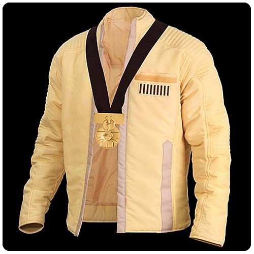 Star Wars Luke Skywalker Ceremonial Jacket w/ Medal of Yavin