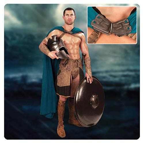 300 Rise of an Empire Themistokles Greek Turquoise Cape
