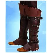Assassin's Creed Ezio Boot Toppers Replica